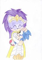 Sonic and Mommy by LeniProduction