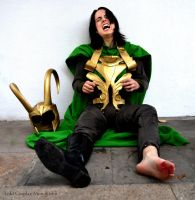 Loki Cosplay in Thor The Dark World in Stuttgart by Mon-Kishu
