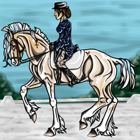 Winter Dressage Extravaganza by Kryptic-Stable-Nordy