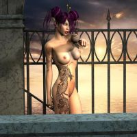 Elfen Tattoo Pin-Up 032 by Evinessa