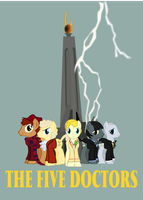 the five doctors cover by Vector-Brony