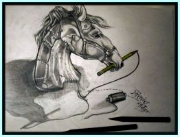 3D art : Stitching a Bond with PAPER..... by siddhant0391