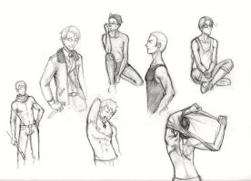 Anatomy studies- Hetalia by shadowzabimaru