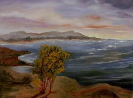 Coastal Painting by Natan-Estivallet