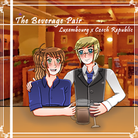 [HETALIA] the beverage pair by melonstyle