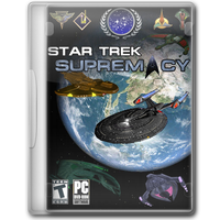 Star Trek Supremacy Game Cover by blackbird2193