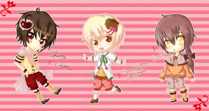 Sweet adoptable boys - Auction ( Closed ) by Fuka-chi