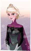 Elsa from Frozen by Dantooine