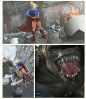 woman of steel by artdude41