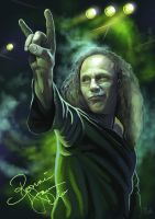 Ronnie James Dio by Deathfeniks