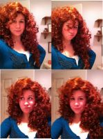 Merida Wig!! : ) by Kennadee