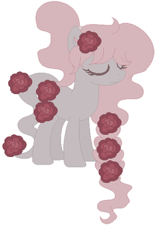 Rose pony adopt by Steampunkadopts