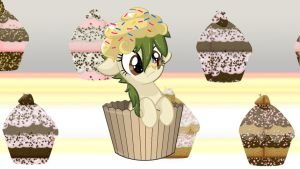 Wallpaper Muffin pony by Barrfind