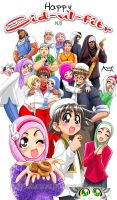 Happy Eid-ul-Fitr - 1431 by Nayzak