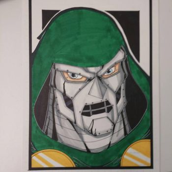 I am DOOM colored and finished. by drtidigler