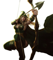 Ashe Sherwood Render by SilentLipz