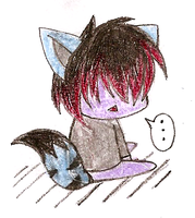 AT: Chibi Emo Here by nekophy