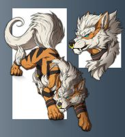 DracWarrior-sketch page- by RogueLiger