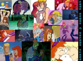 Fred Jones X Daphne Blake Wallpaper by FraphneAddict1