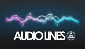 GIMP Audiolines Brushes by Graphicclouds