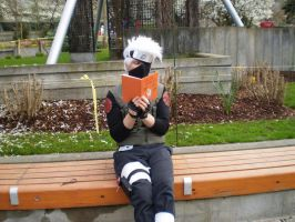 Kakashi Reading Icha Icha by wild4matt