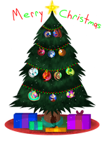 CtC Day 12 - Oh Christmas Tree by SighriaDragoness12