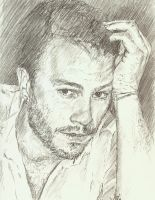 Heath Ledger sketch 3 by bcstroud