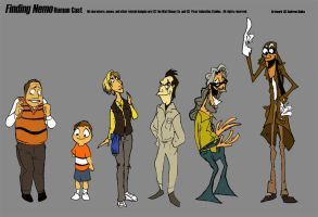 Finding Nemo Human Cast by andrewk