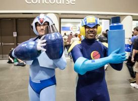 MEGA MEN At MEGACON! by R-Legend