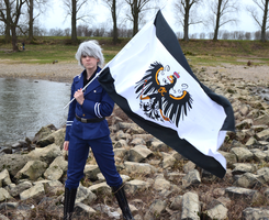 APH cosplay: Prussia: On the Rhine by SabakuNoChie