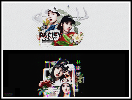 [PACKCOVERS] TWICE MLB 'BLACK OR WHITE ?' by Xiao-Xue