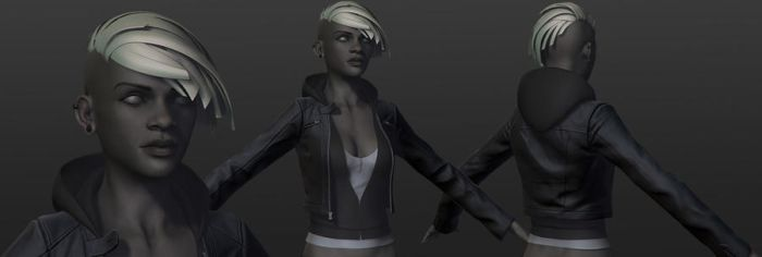 Comicon '10 Storm - detailling by polyphobia3d