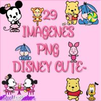 Pack 29 Imagenes Png Disney Cute~ by Roochu13