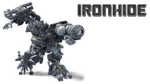Ironhide BG by deejaywill