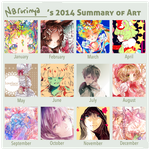 2014 Art Summary by Narurinya