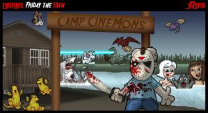 CineMons: Friday the 13th by JSComix
