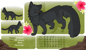 Dimpool TFT Sootclan Medicine Cat by SophSouffle