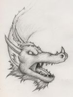 Dragon Head by GH-MoNGo