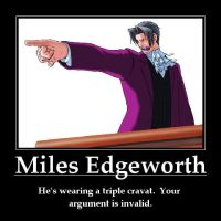Miles Edgeworth by crazyfan67