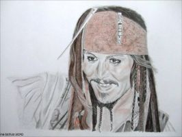 Johnny Depp - Hawaii 2010 by shaman-art