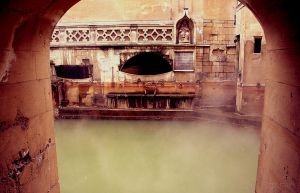 Roman Baths - Bath, England by gsmales