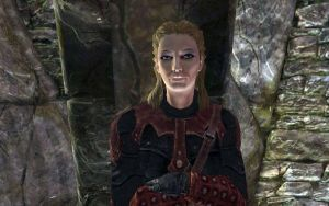 Skyrim Screenshots- Astrid by vincent-is-mine