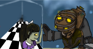 Big Daddy and Little Sister by Wafflepal