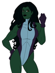 She-Hulk - Preview 2 by RBL-M1A2Tanker