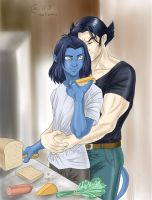 Kurt x Logan by Autumn-Sacura
