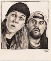 Jay And Silent Bob 2 by StarvingArtist513