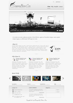 Grayscale Business Design by aaLcatRaZ