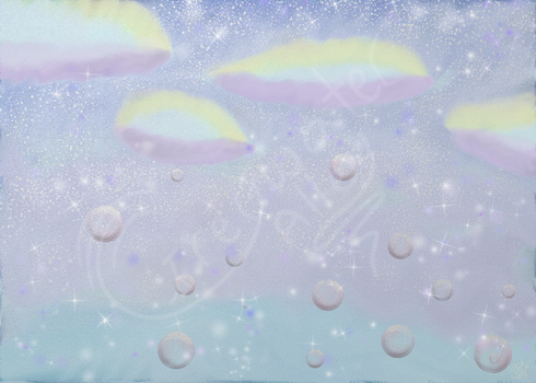 Watercolor Sky by GreywaterAlley