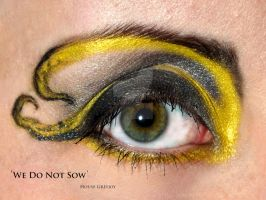 Game of Thrones: House Greyjoy makeup by TheRaven1988
