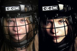 Shelby Hockey Before and After by Speacial-J-Cerial